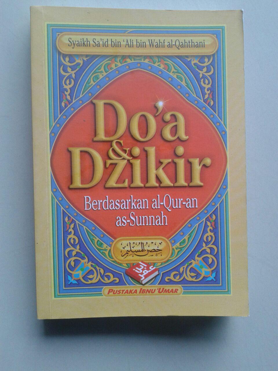 Buku Doa & Dzikir Berdasarkan al-Quran dan as-Sunnah cover 2