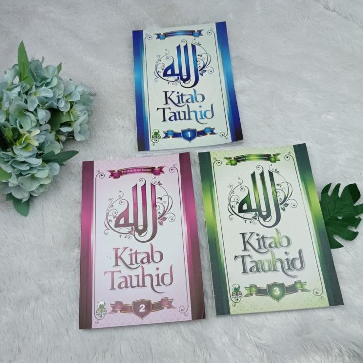 Buku Kitab Tauhid 1 Set (3 Jilid)