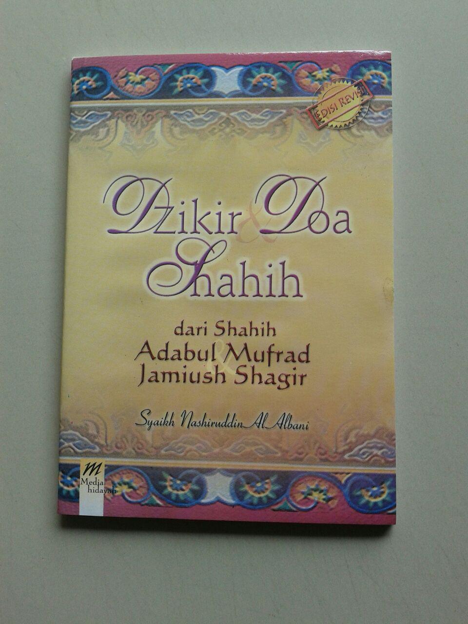 Buku Saku Dzikir Doa Shahih (dari Shahih Adabul Mufrad) cover 2