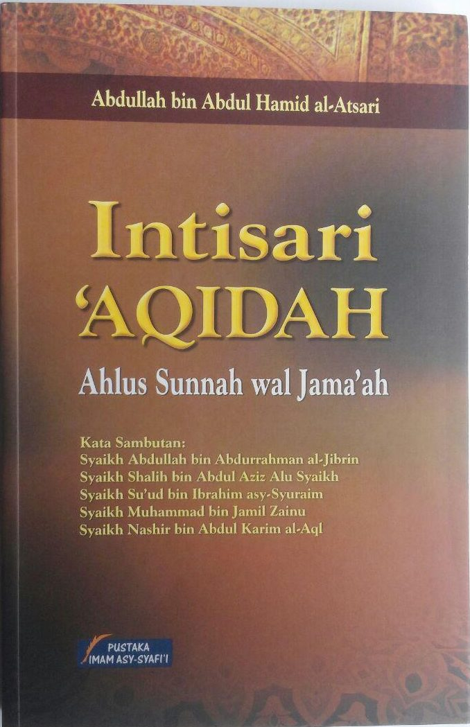 Buku Intisari Aqidah Ahlus Sunnah Wal Jamaah cover 2
