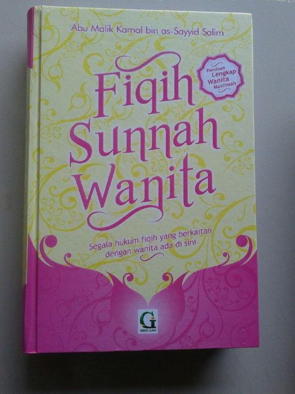 Buku Fikih Sunnah Wanita Segala Hukum Fiqih Yang Berkaitan Wanita cover 2