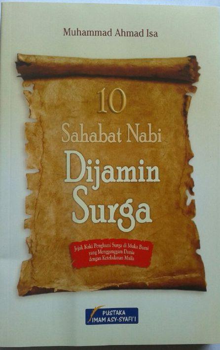 Buku 10 Sahabat Nabi Dijamin Surga cover