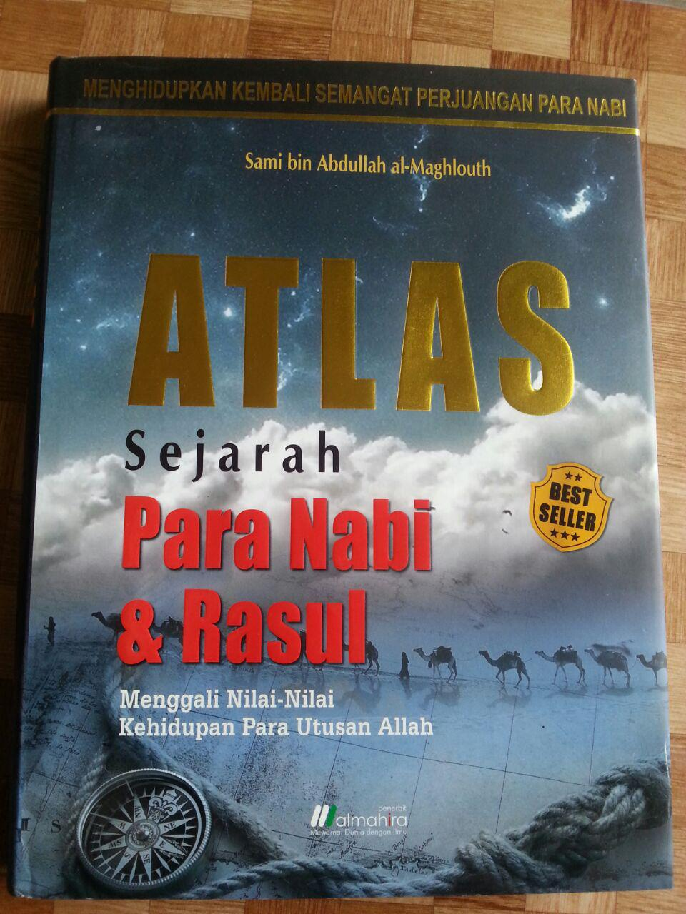 Buku Atlas Sejarah Para Nabi dan Rasul cover 2