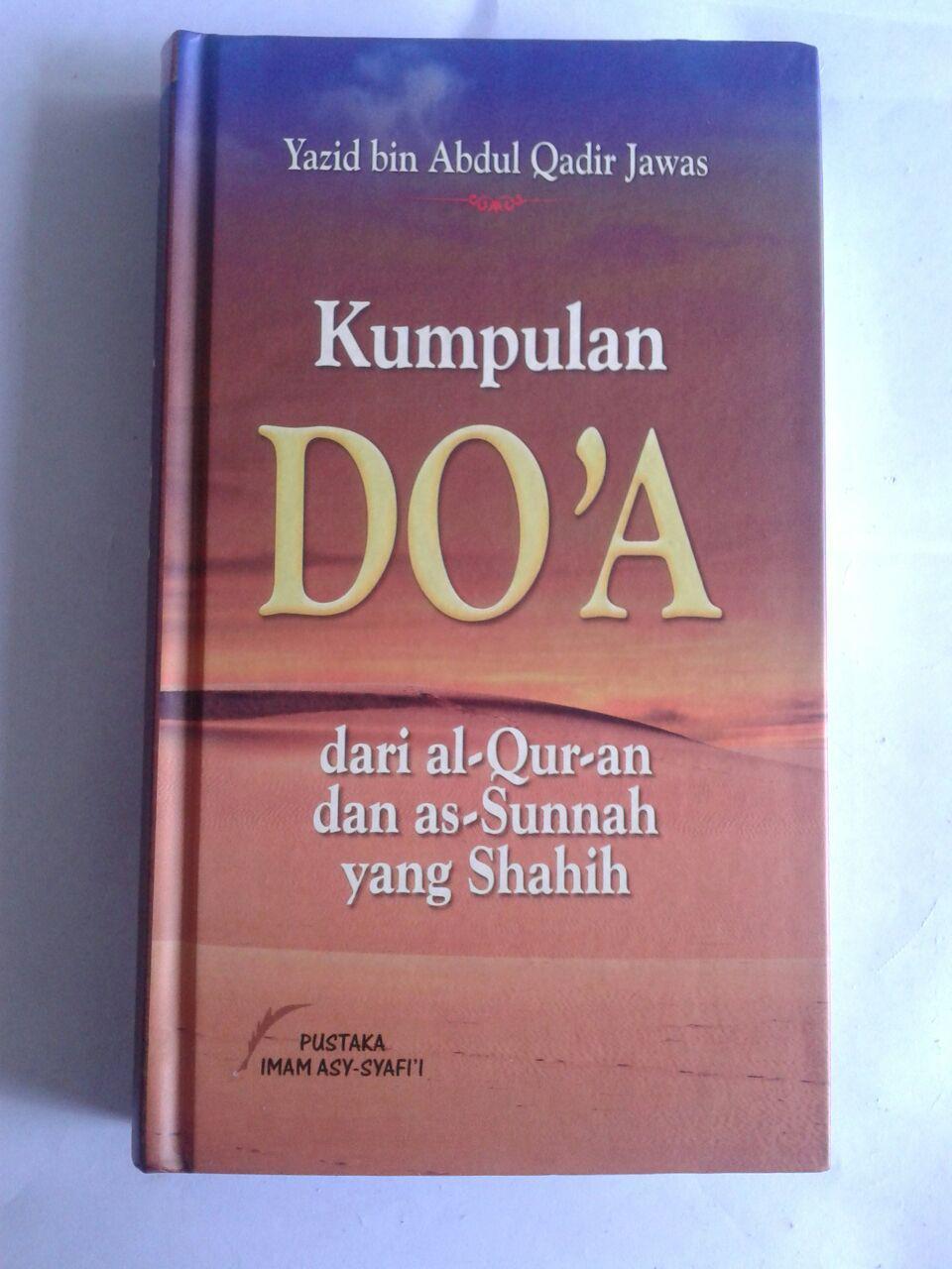 Buku Kumpulan Doa Dari Al-Quran dan As-Sunnah Yang Shahih cover