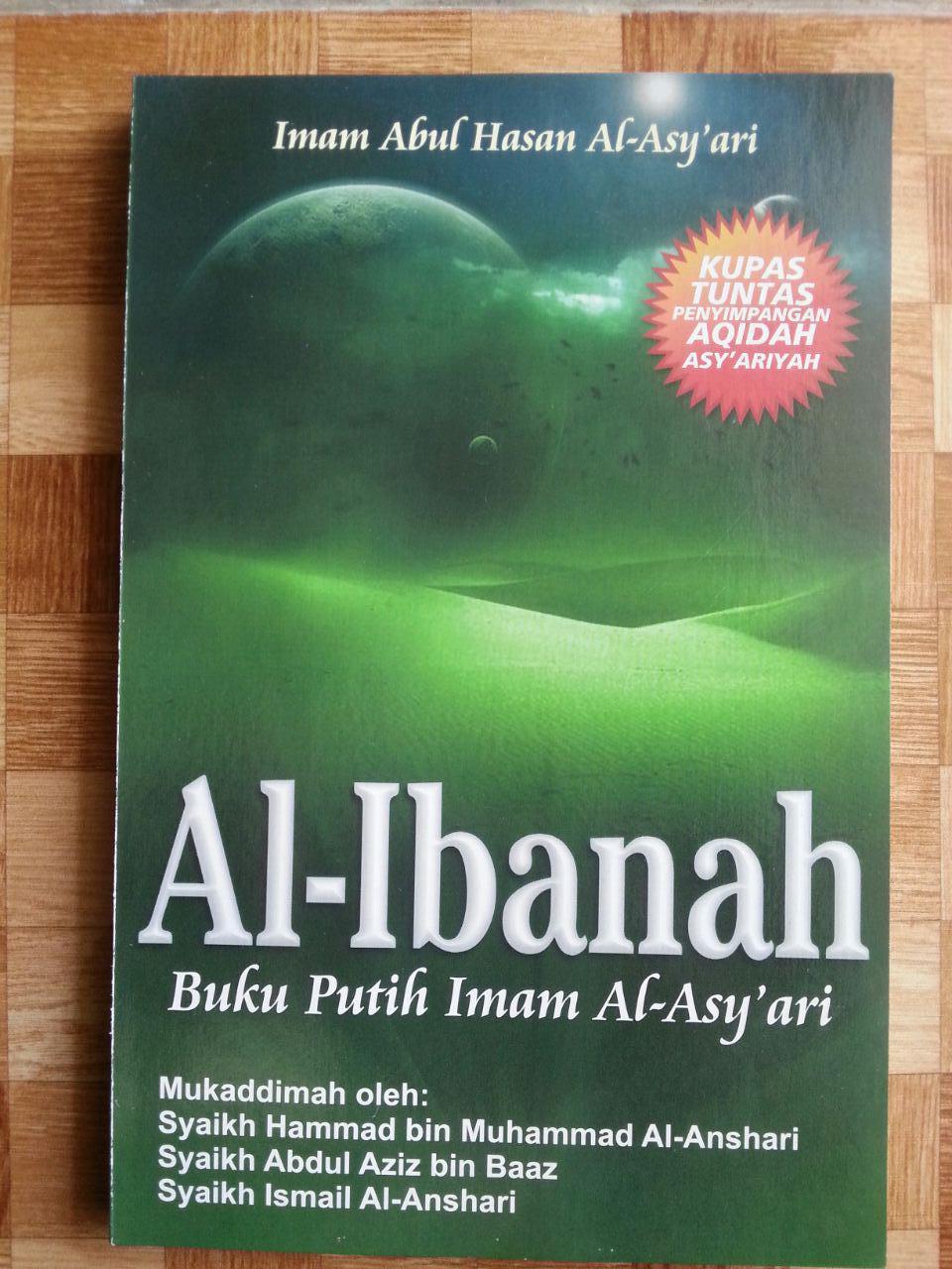 Buku Putih Imam Al-Asy'ari Al-Ibanah cover 2