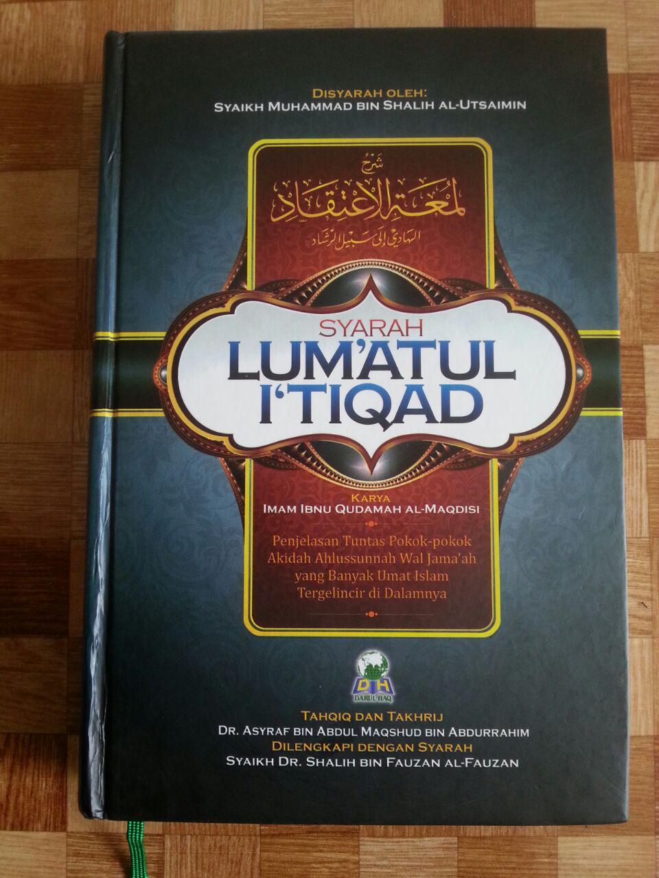 Buku Syarah Lum'atul I'tiqad cover 2