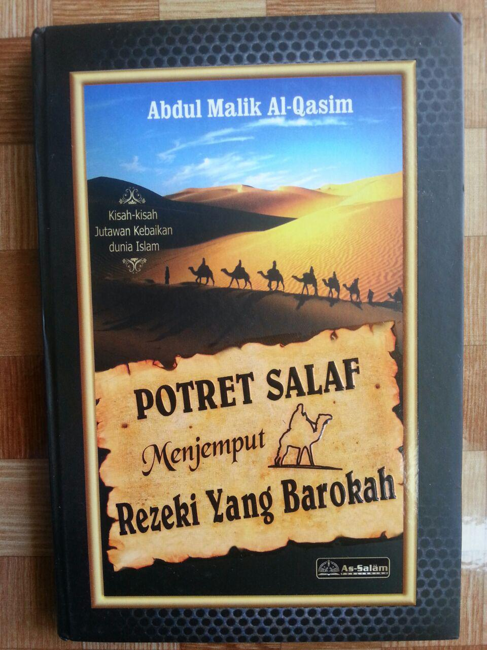Buku Potret Salaf Menjemput Rezeki yang Barokah cover 2