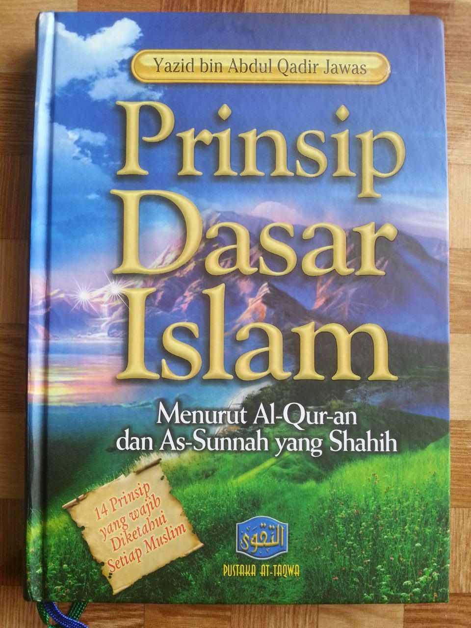 Buku Prinsip Dasar Islam Menurut Al-Qur'an Dan As-Sunnah cover 2