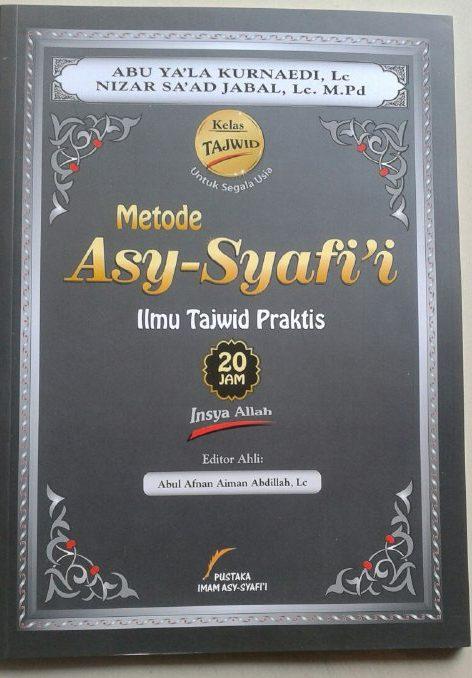 Buku Metode Asy-Syafi'i Ilmu Tajwid Praktis cover