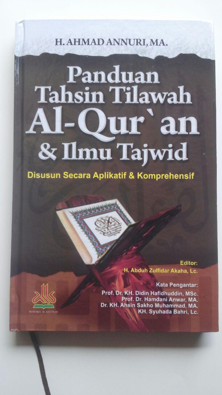 Buku Panduan Tahsin Tilawah Al-Qur'an Dan Ilmu Tajwid cover 2