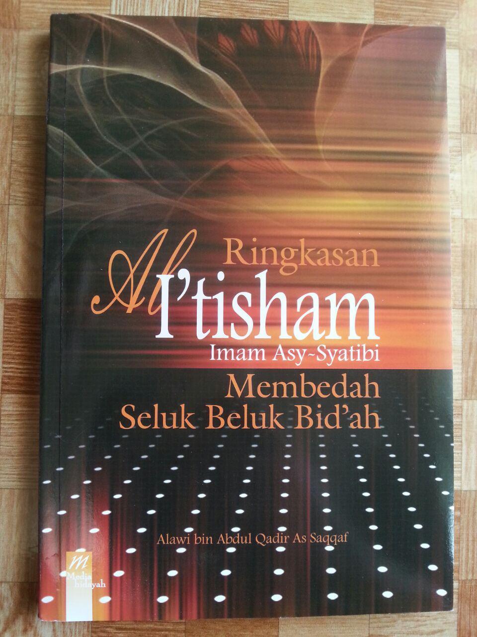 Buku Ringkasan Al-I'tisham (Membedah Seluk Beluk Bidah) cover 2