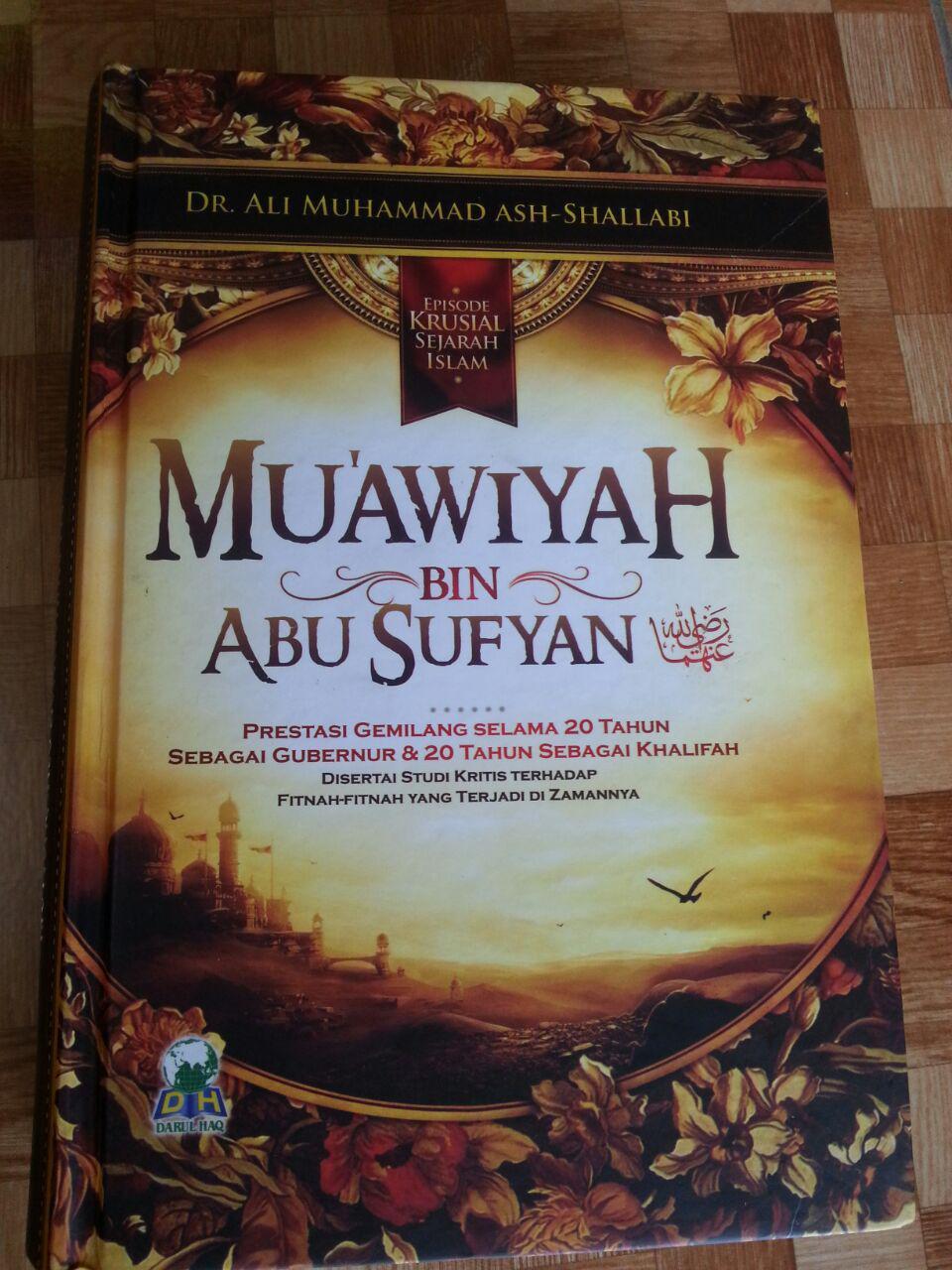 Buku Muawiyah Bin Abu Sufyan cover 2