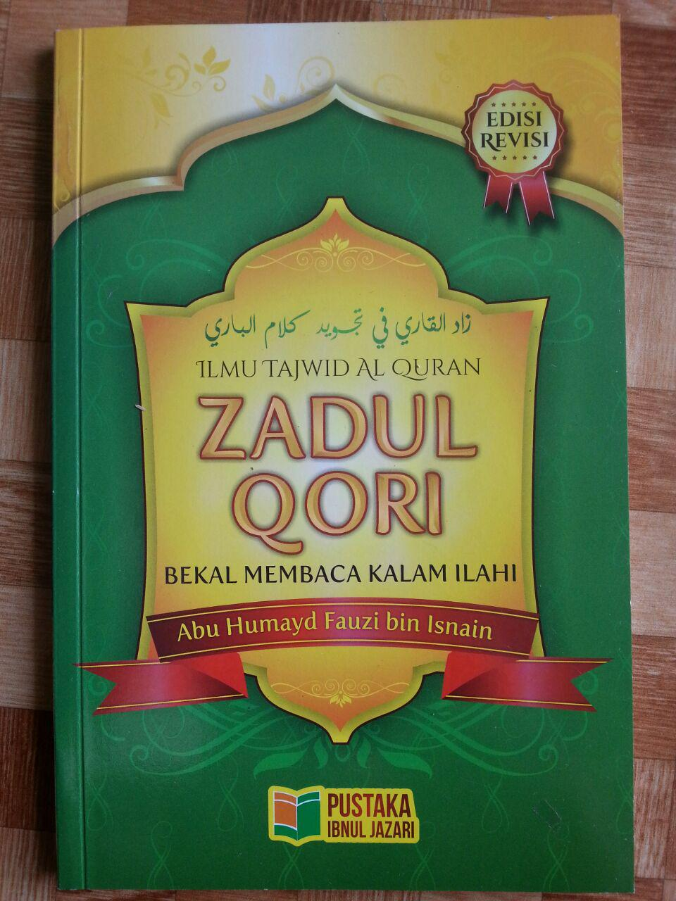 Buku Zadul Qori Bekal Membaca Kalam Ilahi cover 2