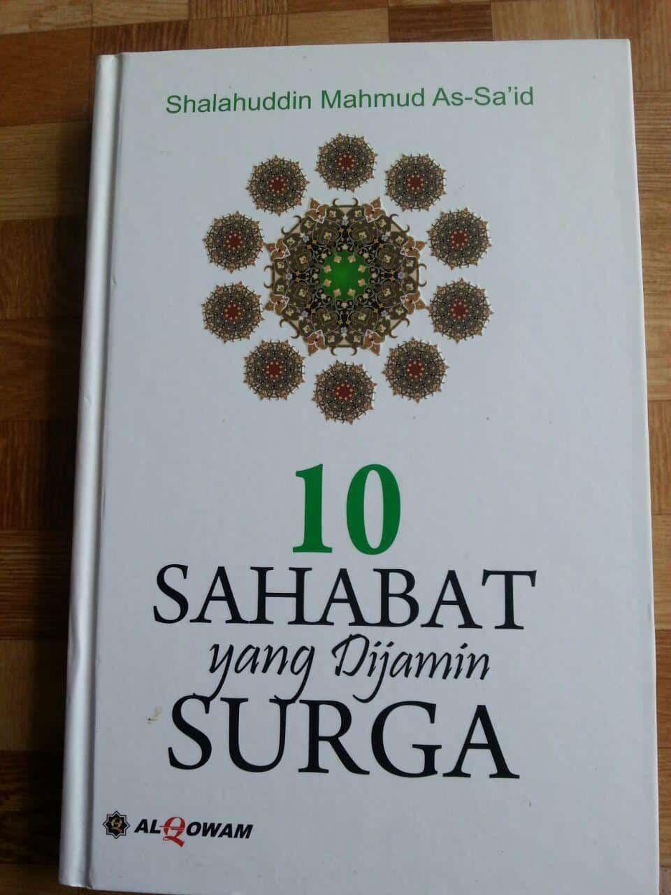 Buku 10 Sahabat Yang Dijamin Surga cover 2