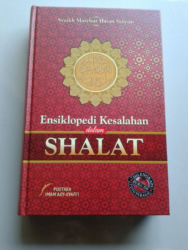 Buku Ensiklopedi Kesalahan Dalam Shalat Dilengkapi Foto Peraga cover 2