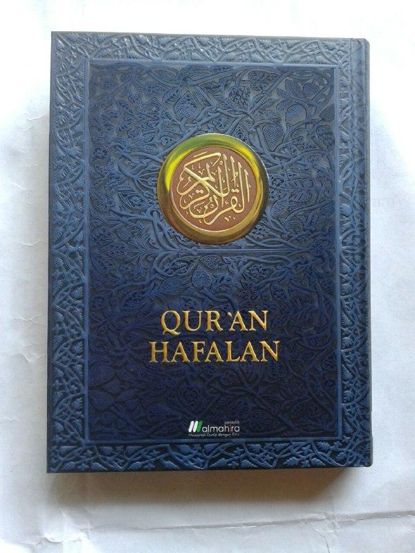 Qur'an Hafalan Mushaf Hard Cover Ukuran A5 cover