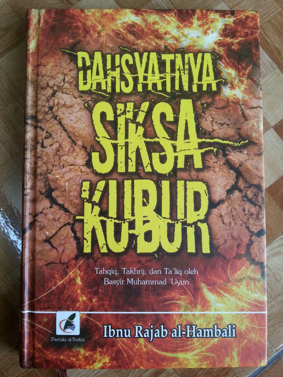 Buku Dahsyatnya Siksa Kubur cover 2