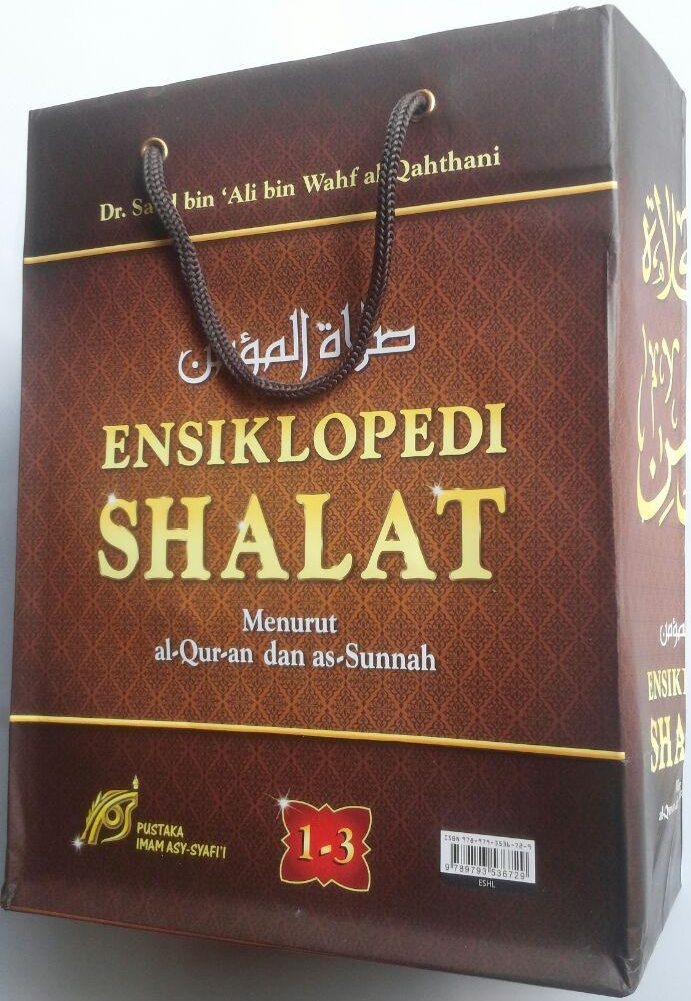 Buku Ensiklopedi Shalat Menurut Al-Qur'an Dan As-Sunnah 1 Set 3 Jilid 420,000 25% 315,000 cover
