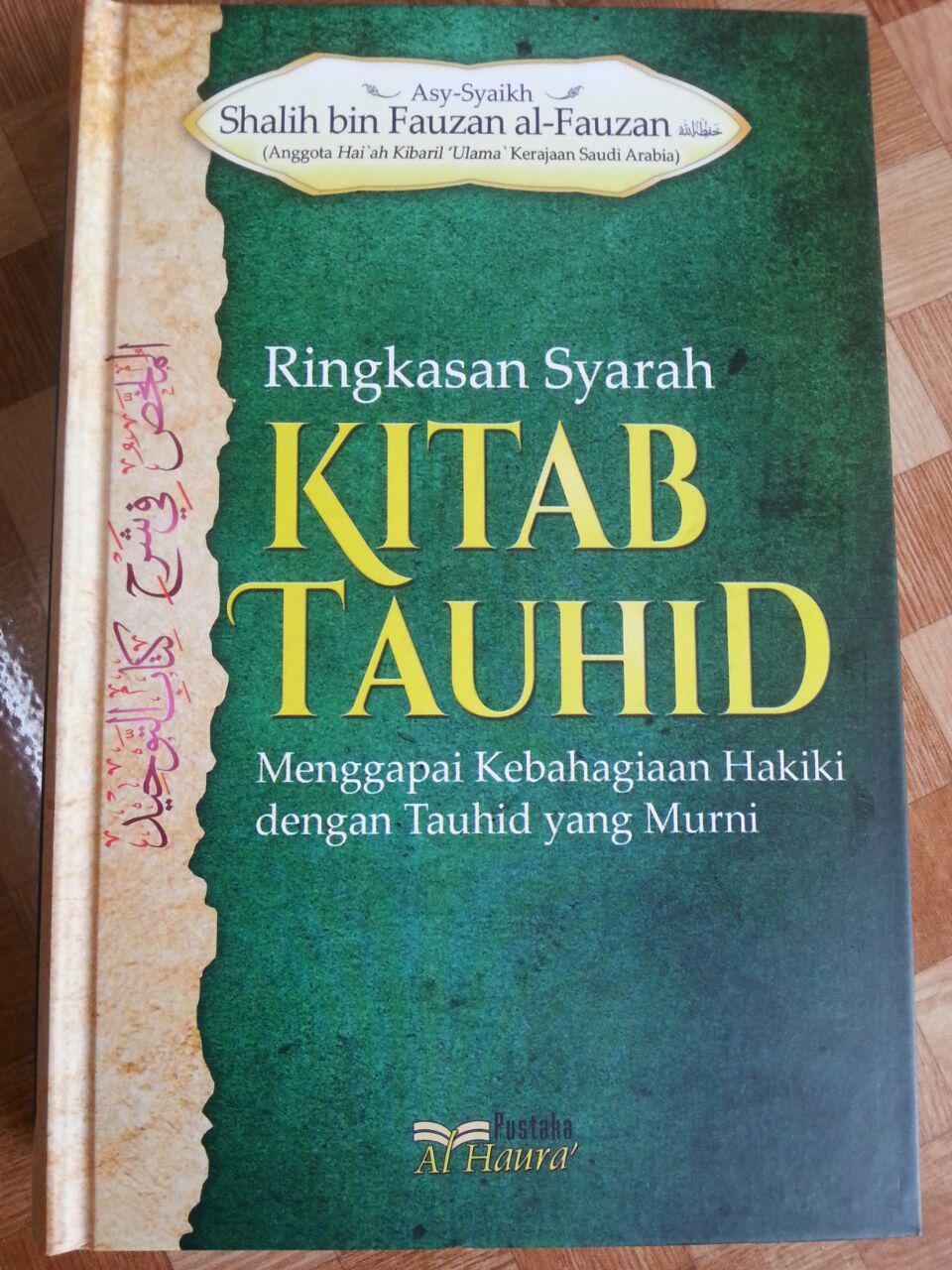 Buku Ringkasan Syarah Kitab Tauhid cover 2