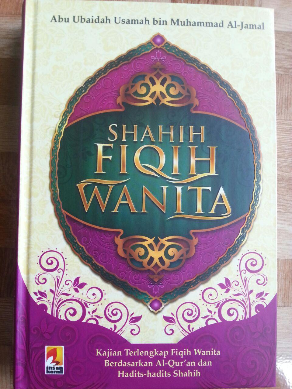 Buku Shahih Fiqih Wanita Syaikh Abu Ubaidah Usamah cover 2