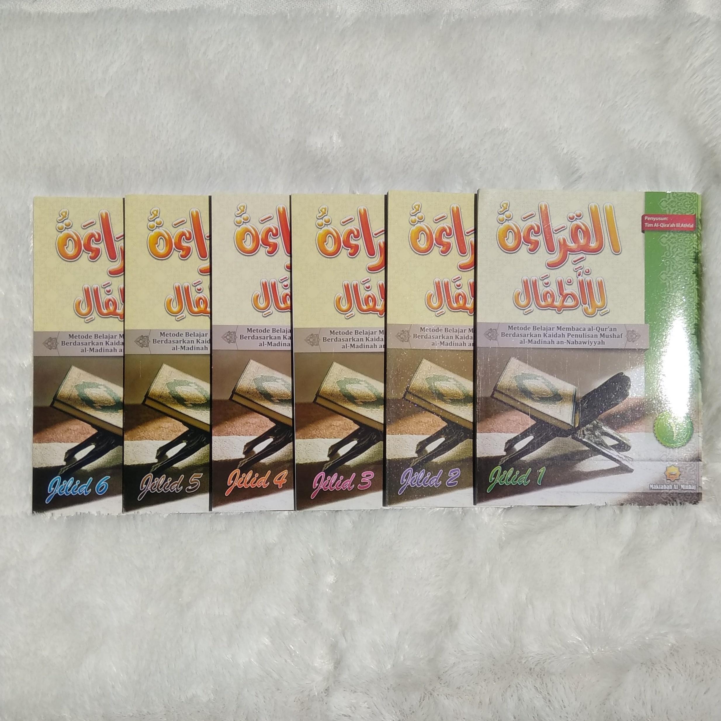 Buku Al-Qira'ah lil Athfal Metode Belajar Membaca Al-Qur'an 1 Set 6 Jilid