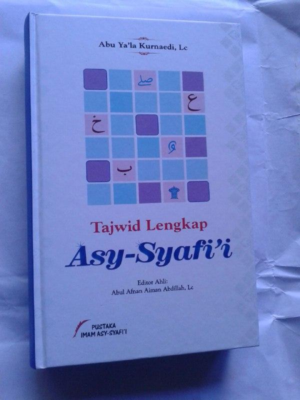Buku Tajwid Lengkap Asy-Syafi'i cover
