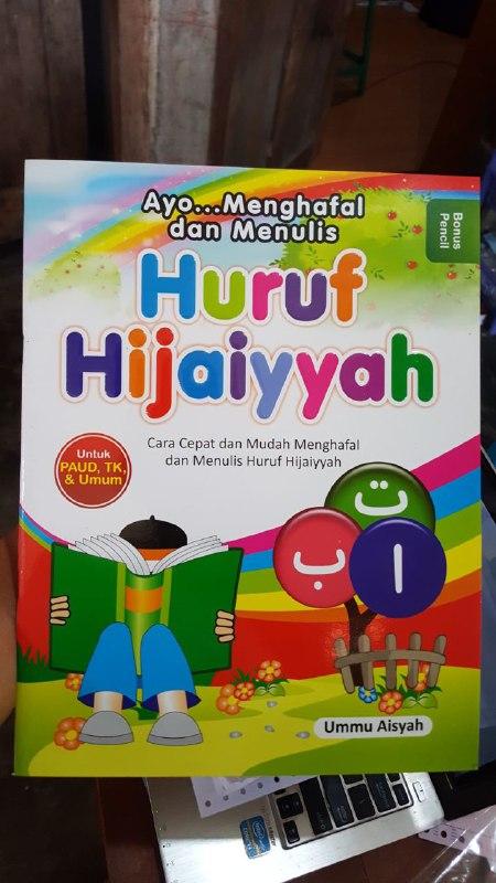 Buku Cara Cepat Menghafal Dan Menulis Huruf Hijaiyyah cover