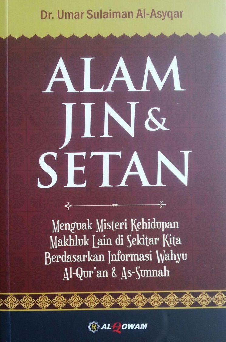 Buku Alam Jin Dan Setan cover 2