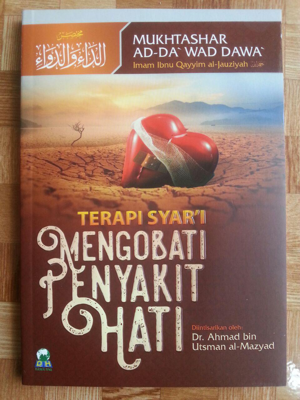 Buku Terapi Syar'i Mengobat Penyakit Hati cover 2