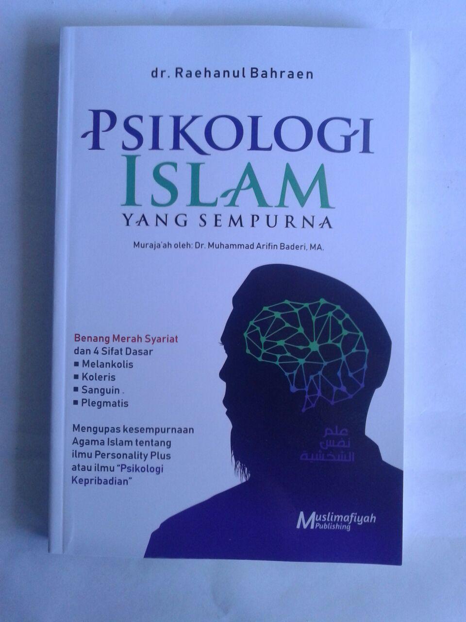Buku Psikologi Islam Yang Sempurna cover 2
