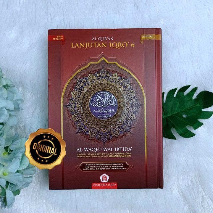Al-Qur'an Iqro Lanjutan Al-Waqfu Wal Ibtida Ukuran A5
