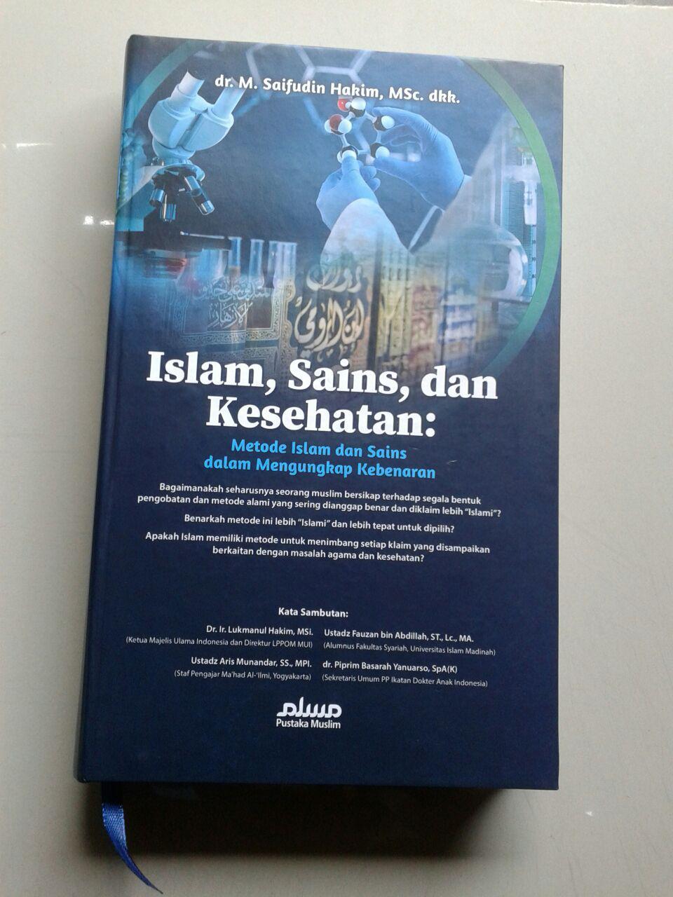 Buku Metode Islam & Sains Dan Kesehatan Dalam Mengungkap Kebenaran cover 2