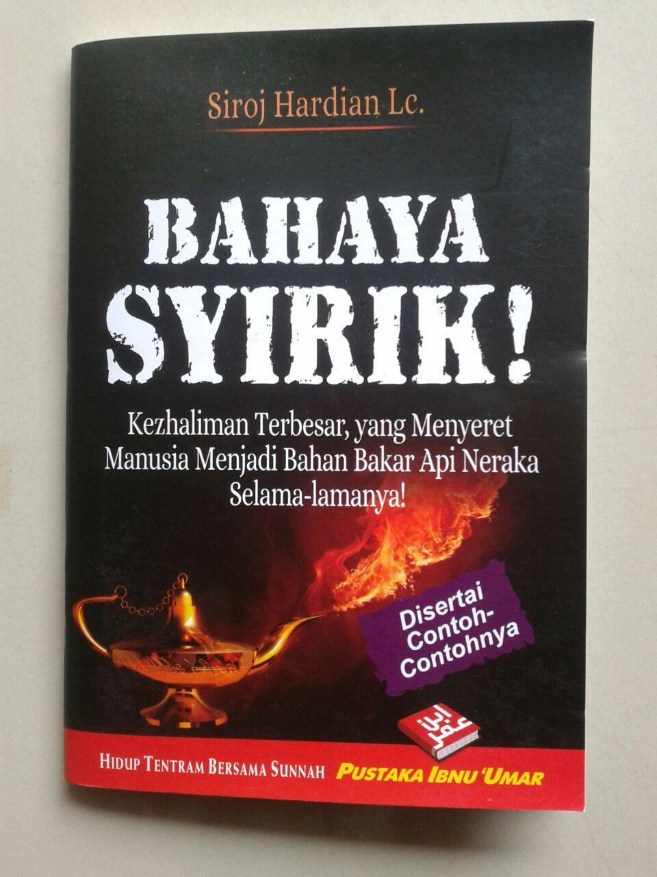 Buku Saku Bahaya Syirik Kezhaliman Terbesar cover 2