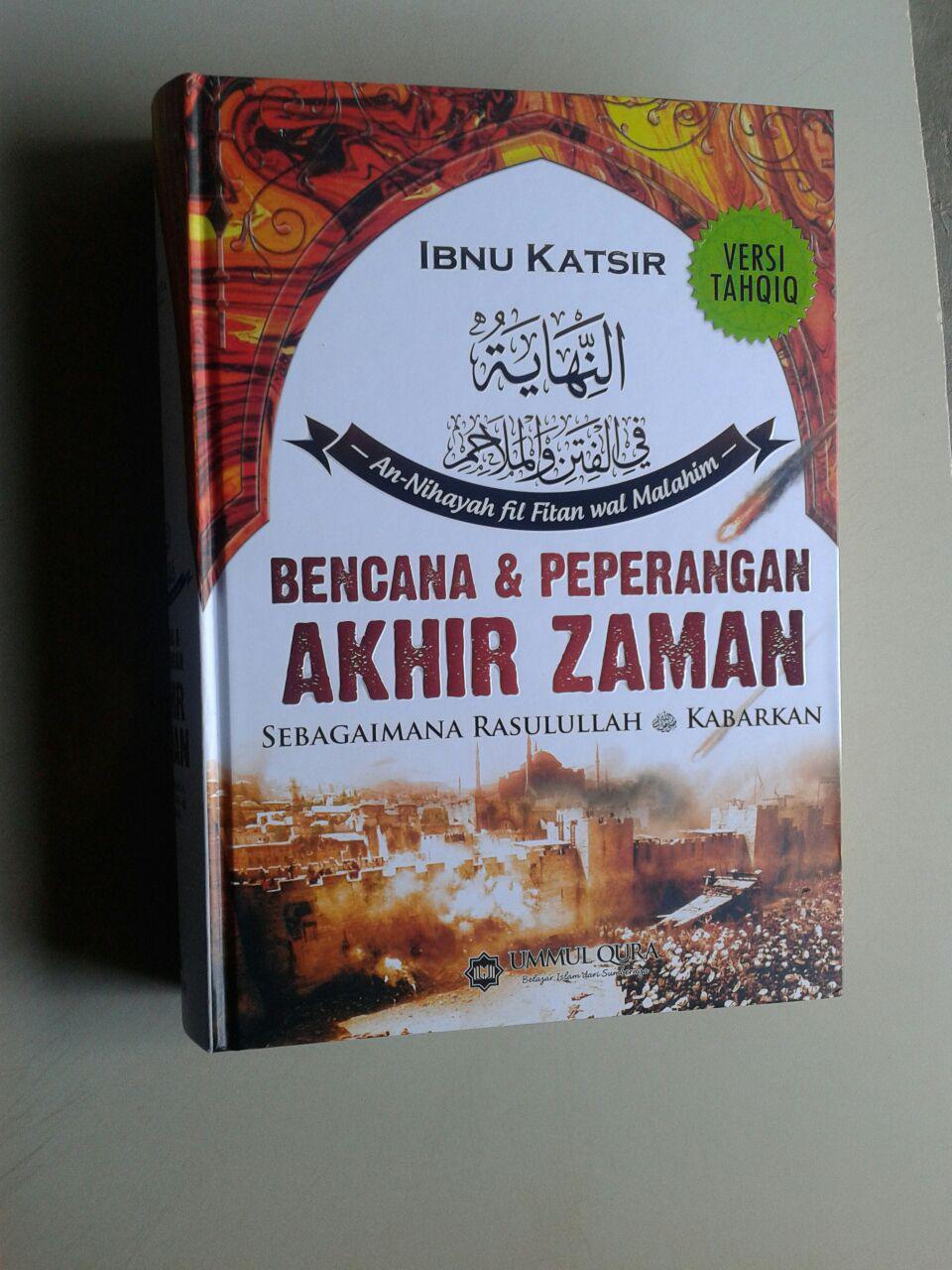 Buku Bencana & Peperangan Akhir Zaman Sebagaimana Rasulullah Kabarkan cover 2