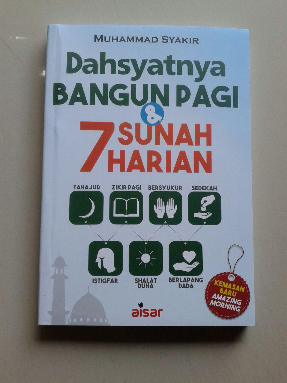 Buku Dahsyatnya Bangun Pagi & 7 Sunnah Harian cover