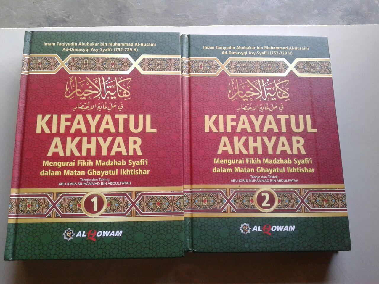 Buku Kifayatul Akhyar Mengurai Fikih Madzhab Syafi'i Set 2 Jilid cover 2