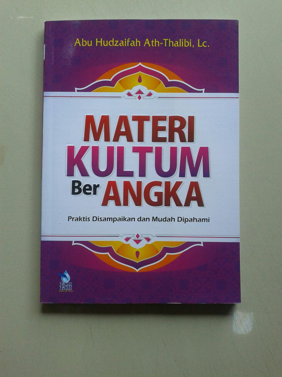 Buku Materi Kultum Ber Angka Praktis Disampaikan & Mudah Dipahami cover 2