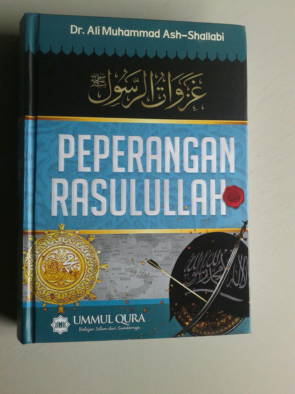 Buku Peperangan Rasulullah Shallallahu Alaihi wa Sallam cover 2