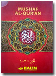 Al-Qur'an Mushaf Halim Nur Jeddah Per 5 Juz Set 6 Jilid