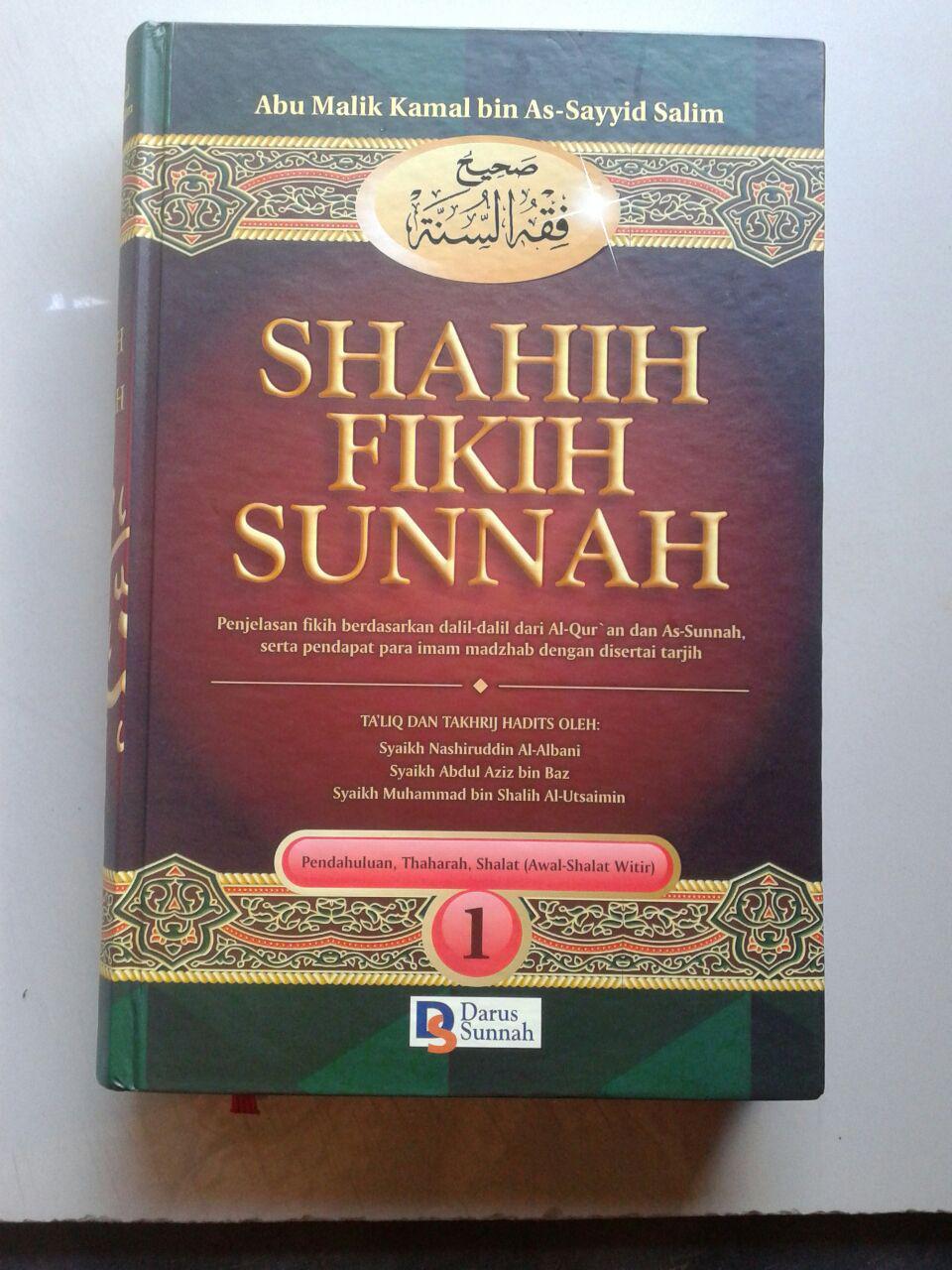 Buku Shahih Fikih Sunnah Penjelasan Fikih Berdasarkan Quran Dan Sunnah cover 2