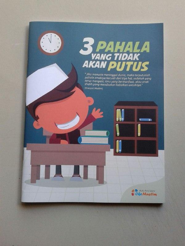 Buku Tulis Islami Cover 3 Pahala Yang Tidak Akan Putus cover