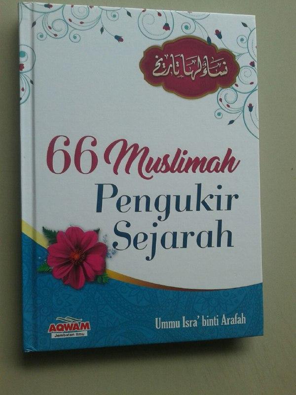 Buku 66 Muslimah Pengukir Sejarah cover