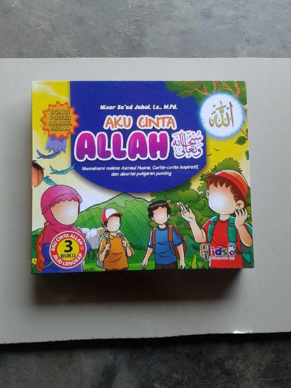Buku Anak Aku Cinta Allah Memahami Asmaul Husna Cerita Inspiratif cover