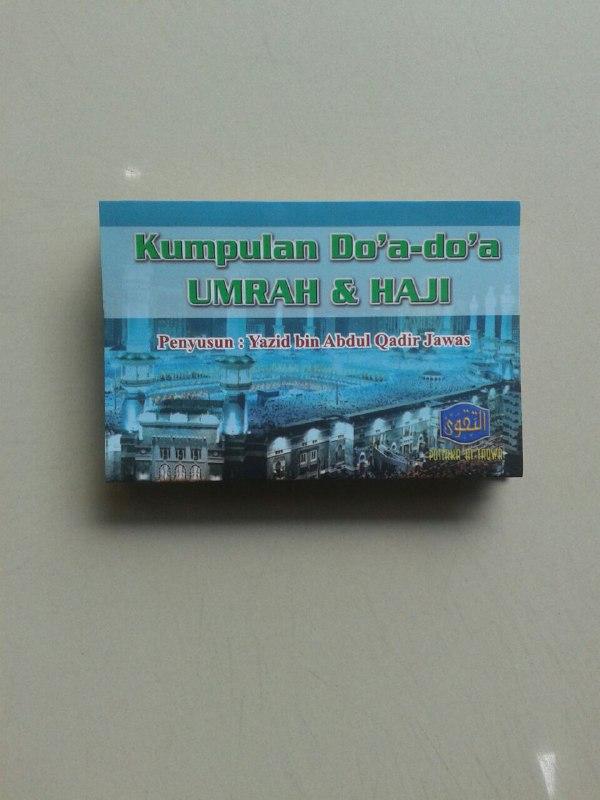 Buku Saku Kumpulan Do'a Do'a Umrah & Haji (Lipat) cover-2