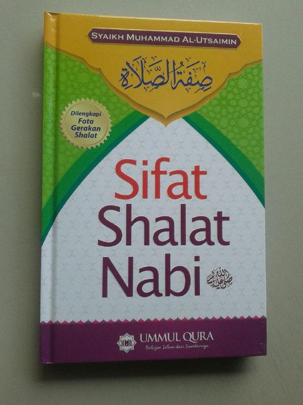 Buku Sifat Shalat Nabi Shallallahu Alaihi Wa Sallam cover