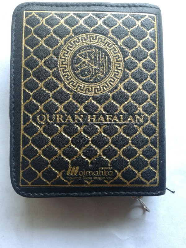Al-Qur'an Hafalan Saku Resleting cover