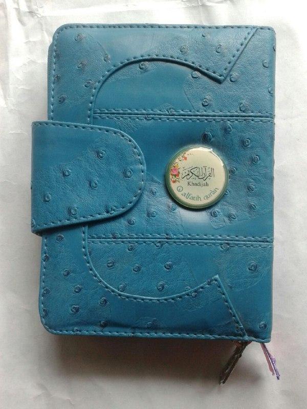 Al-Qur'an Mushaf Khadijah Dan Terjemahnya Cover Resleting
