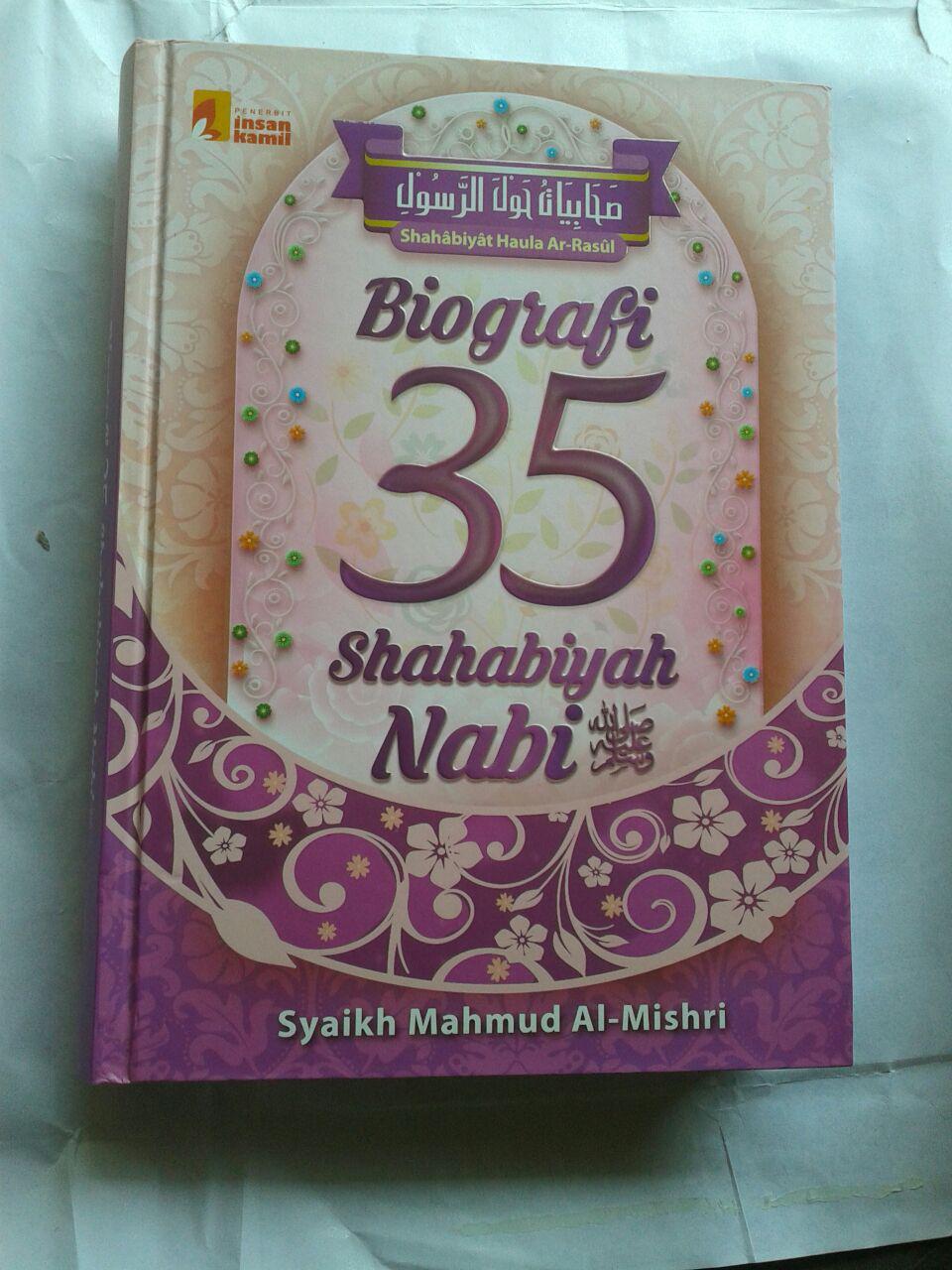 Buku Biografi 35 Shahabiyah Nabi Shallallahu Alaihi wa Sallam cover