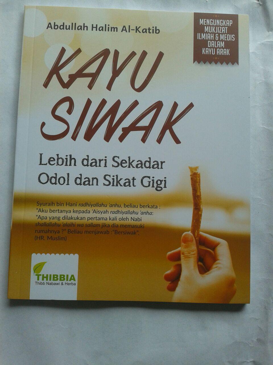 Buku Kayu Siwak Lebih Dari Sekedar Odol Dan Sikat gigi cover