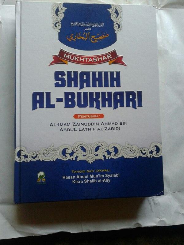 Buku Mukhtashar Shahih Al-Bukhari cover